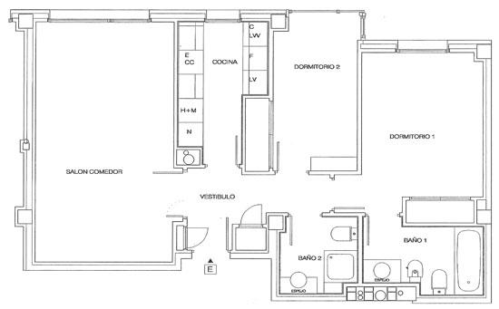 Rutherford plano de pisos letra e for Planos de pisos grandes