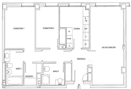 Rutherford plano de pisos letra f for Planos de pisos grandes